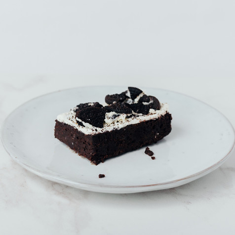Oreo brownie from Scrumptiousbylucy.com