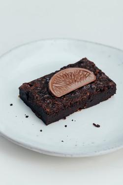 Terry's Chocolate Orange brownie