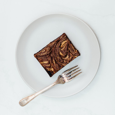 The best brownie with chocolate peanut butter