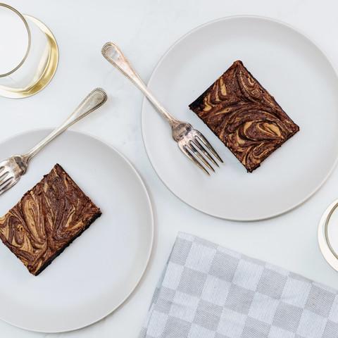 Peanut Butter chocolate brownie