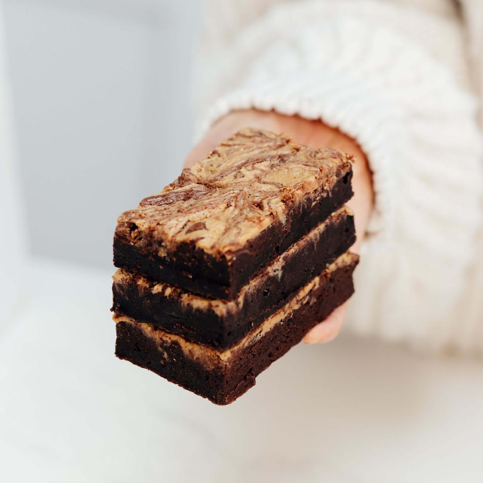 Peanut butter brownie   Scrumptiousbylucy