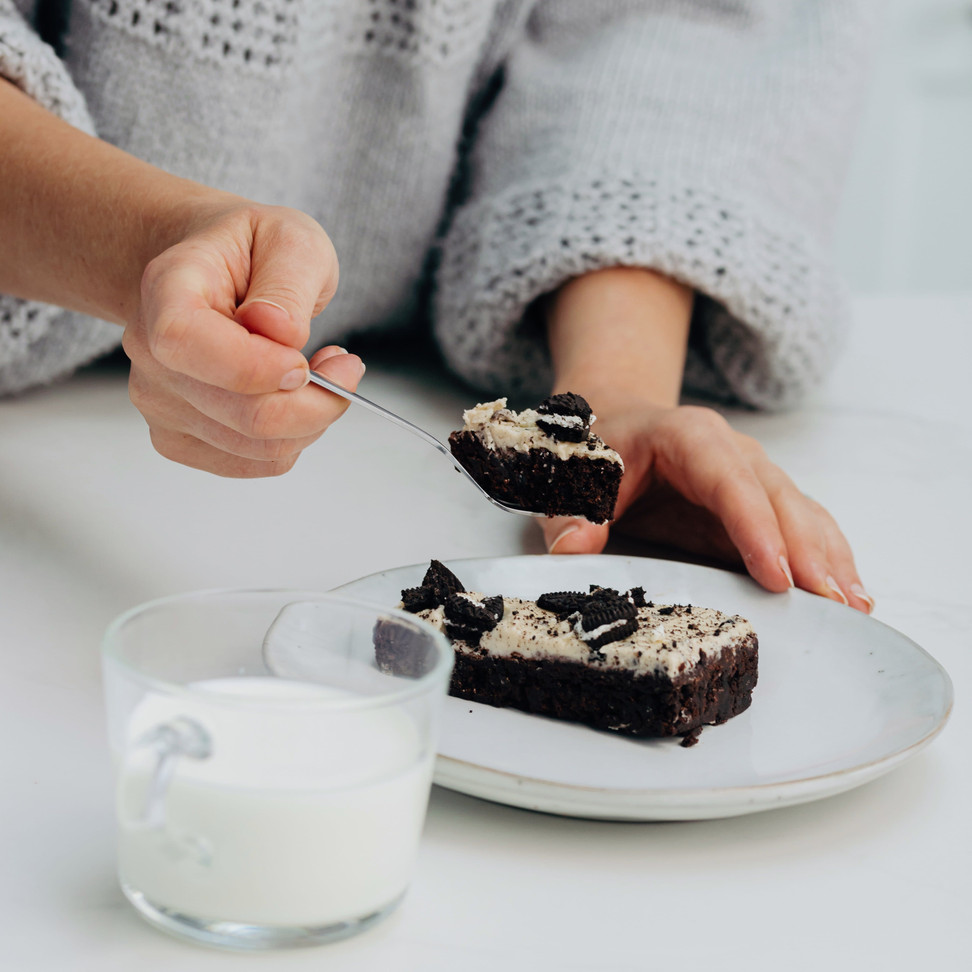 Oreo brownies from Scrumptiousbylucy