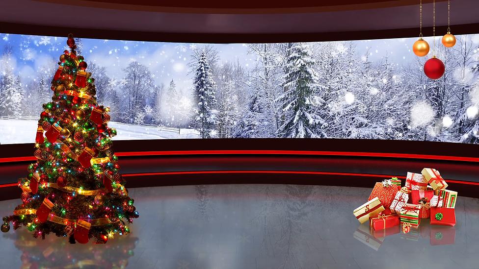 christmas-tv-studio-set-02-virtual-green