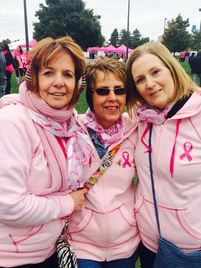 Paint it all Pink winner donation helps Elizabeth Wende Breast Care Fund