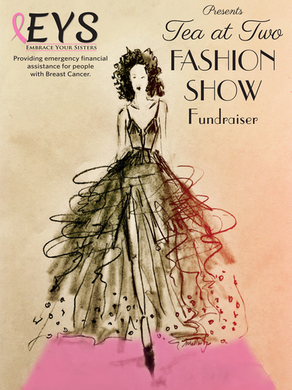 14th Annual Tea at Two Fashion Show Fundraiser May 3rd, 2020