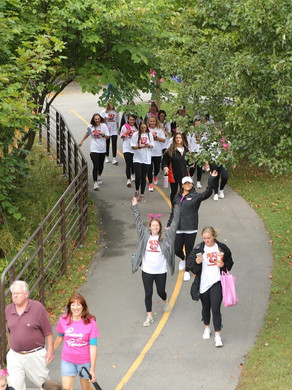Positively Pink in Pittsford Walk Fundraiser Canceled for 2020