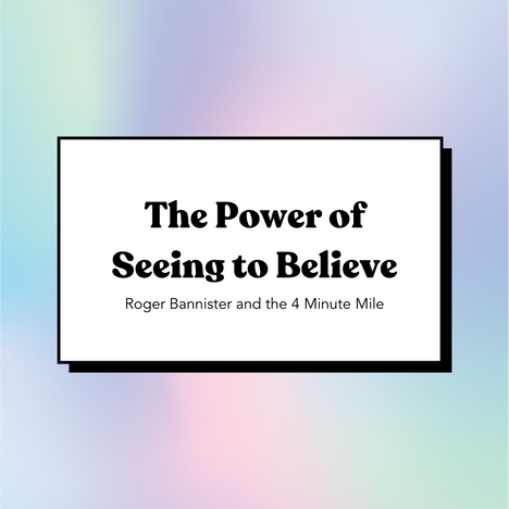 The Power of Seeing to Believe