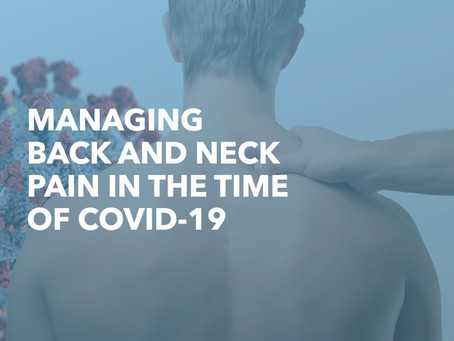 Why does COVID-19 sometimes cause back pain?