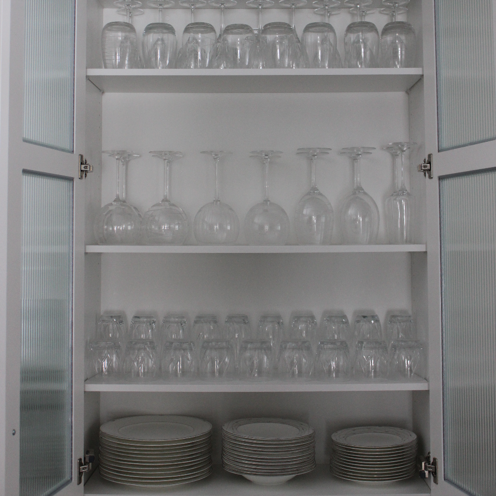 China Cabinet by Artfully Organized