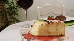 Гриловано сирене бри със сладко от ягоди