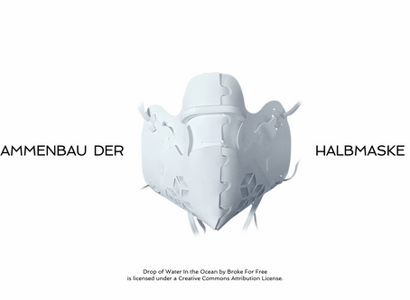 Video-Bauanleitung für Halbmaske-3D ist online!