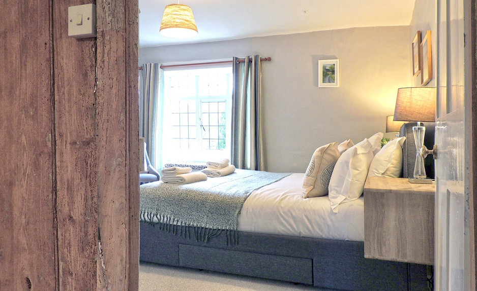Bedroom at Magnolia Cottage at Moreton-in-the-Marsh, Cotswolds Holidays