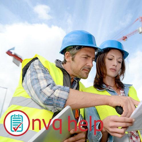 NVQ L7 CONSTRUCTION SENIOR MANAGEMENT COURSEWORK HELP & ANSWERS