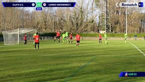 Résumé vidéo USIF - FC Landes Girondines