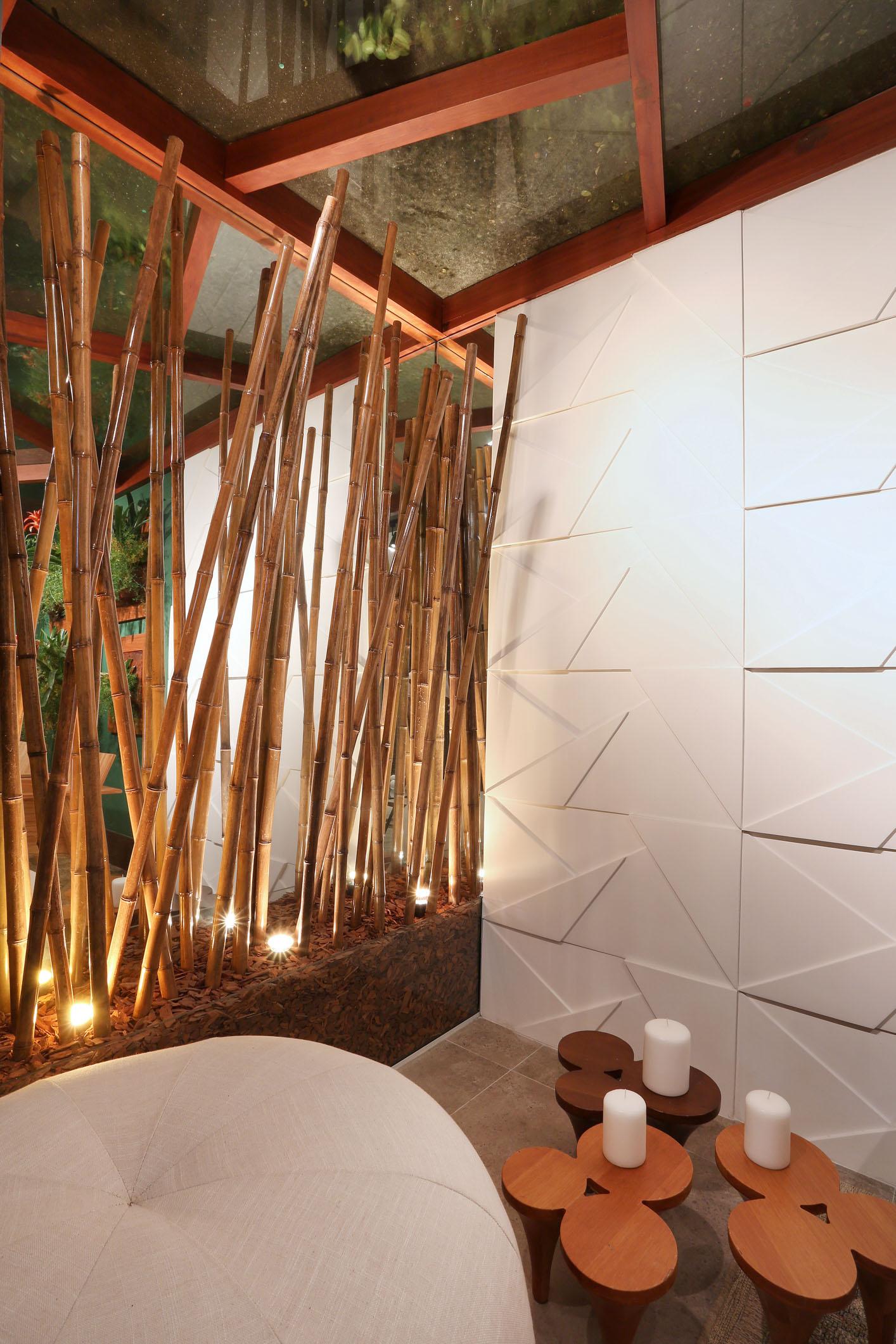 Jardim de bambú