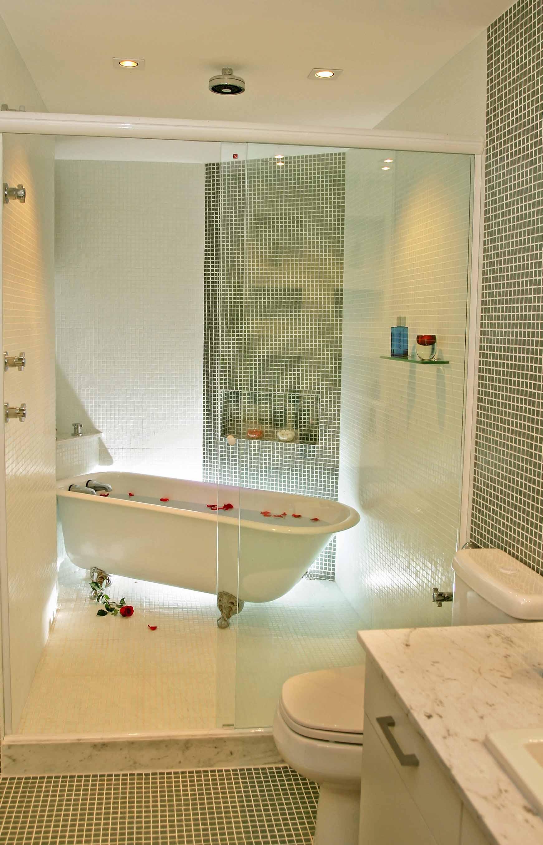 Banheiro -  Banheira Retrô