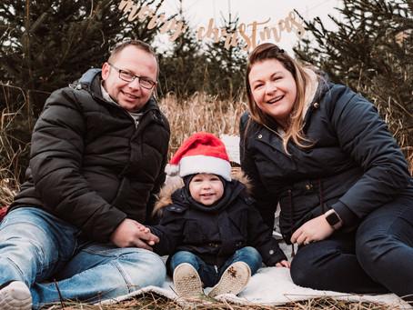 Christmas-Shooting im Tannenwäldchen