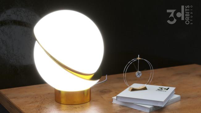 Lamp product render