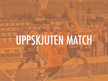 Fredagens match mot Södertälje BBK skjuts upp