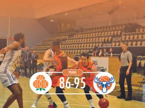 Förlust på hemmaplan mot Jämtland Basket