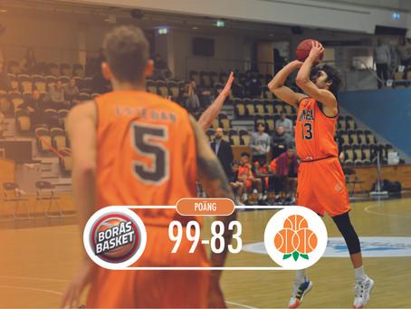 Förlust mot Borås Basket