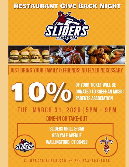 Sliders Restaurant Give Back Night - Mad