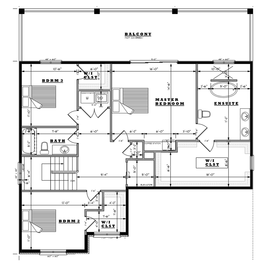 Woven Street Second Floor Plan