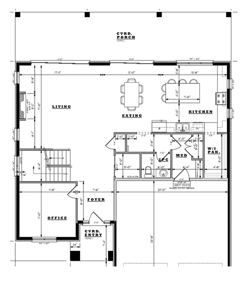 Woven Street Main Floor Plan
