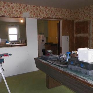 La Salette Living Room/Kitchen