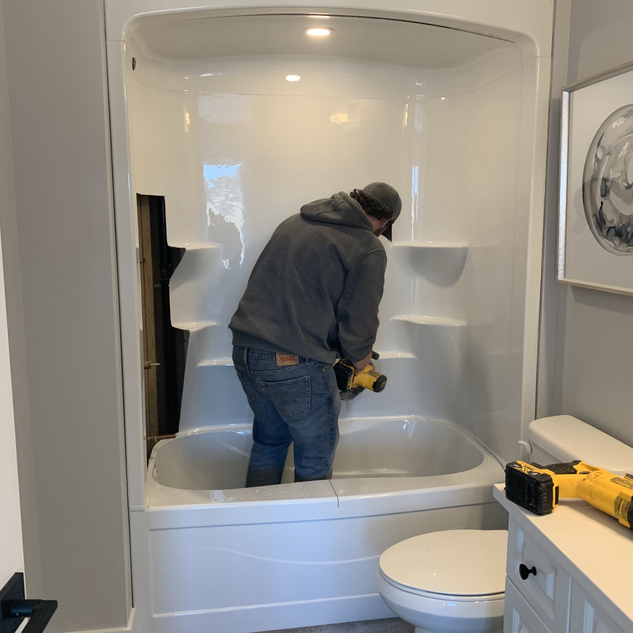 Unit 2 Tub Removal