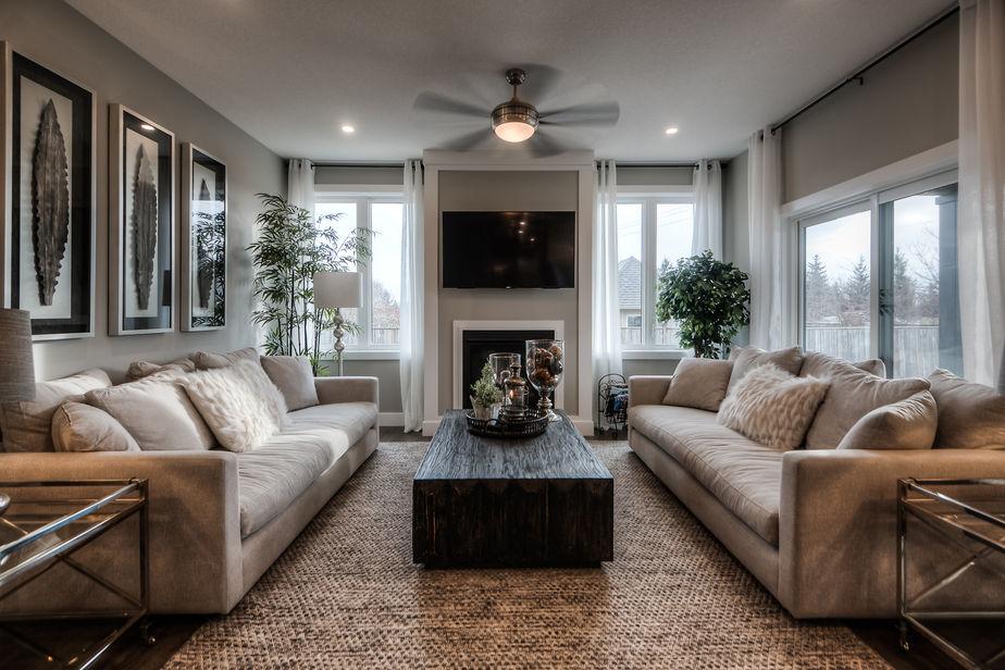 Living Room of Sea Breeze Project