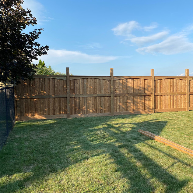 Fence - During Construction