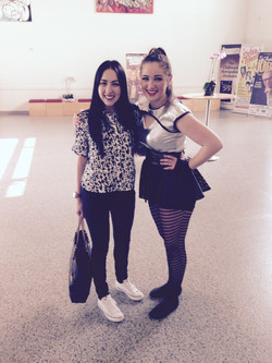 Brittni Blakeney Solo with Ms Taylor