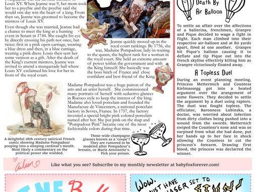 Babyfox Gazette - February 2021