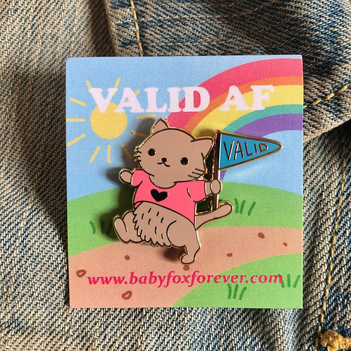 VALID Cat Marching Pin