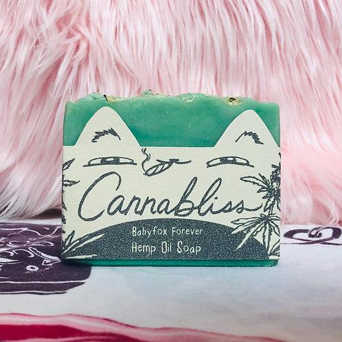 Cannabliss Hemp Oil Soap