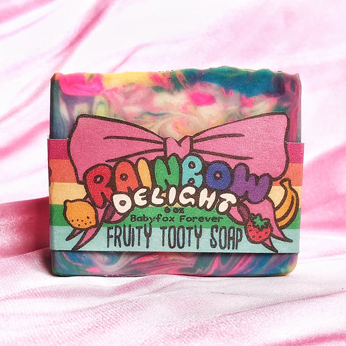 Rainbow Delight Fruity Soap