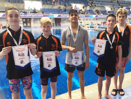 Stocksbridge Pentaqua Swimmers Strike Gold at Yorkshire Championships