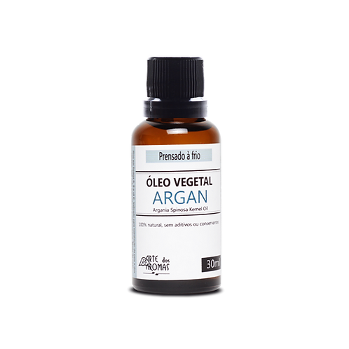 Óleo Vegetal Argan 30ml