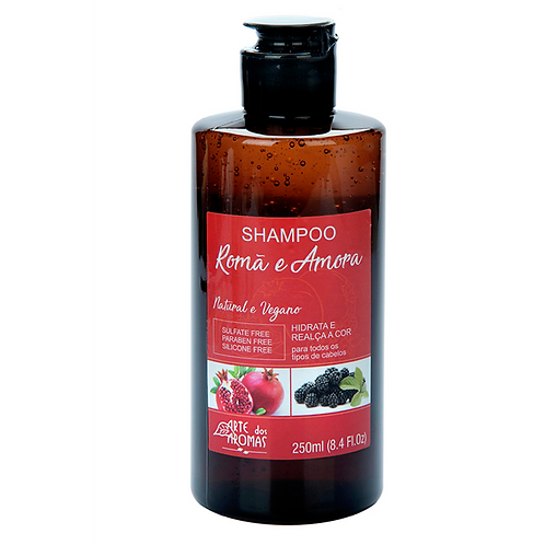 Shampoo Romã e Amora 250ml