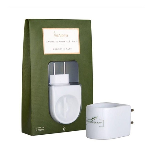 Novo Aromatizador Elétrico Bivolt Aromatherapy porcelana 2 anos de garantia