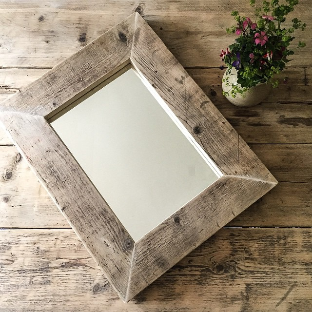 #upcycled #scaffold #mirror ready for hanging #interiordesign