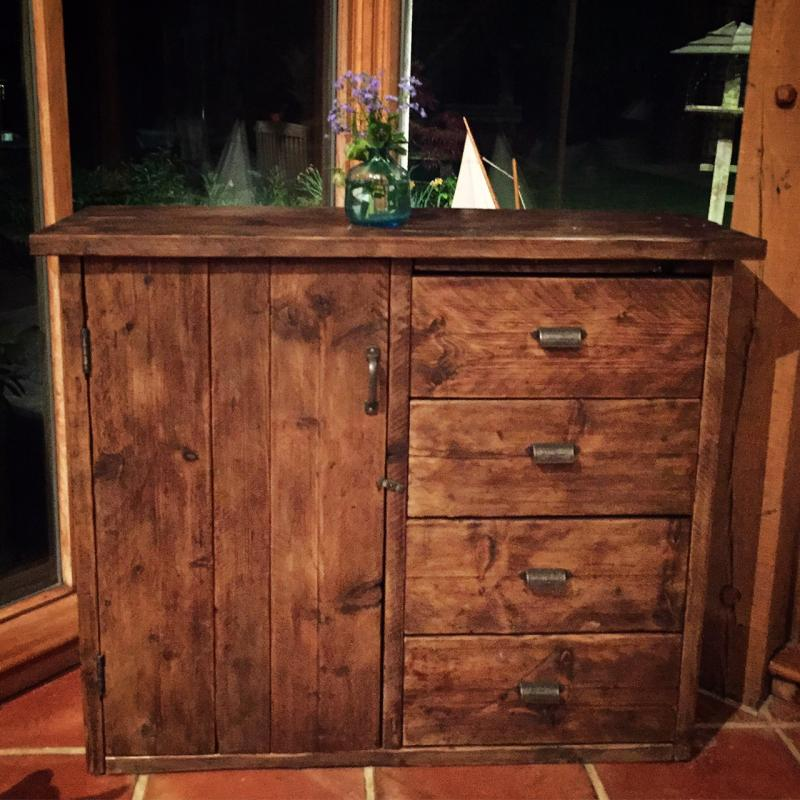 big chest of drawers