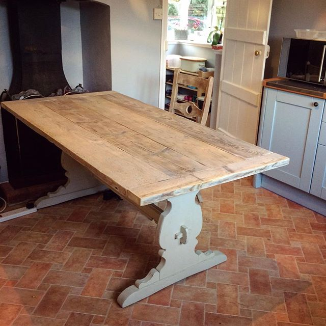 Joint effort on one of the latest tables, #scaffold top from _brand_designs and base from _marlesfor