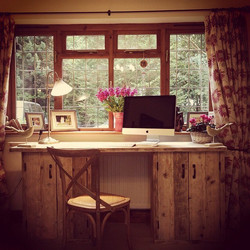 Regram from last year - #bespoke #scaffold desk #interiordesign #office #homeoffice