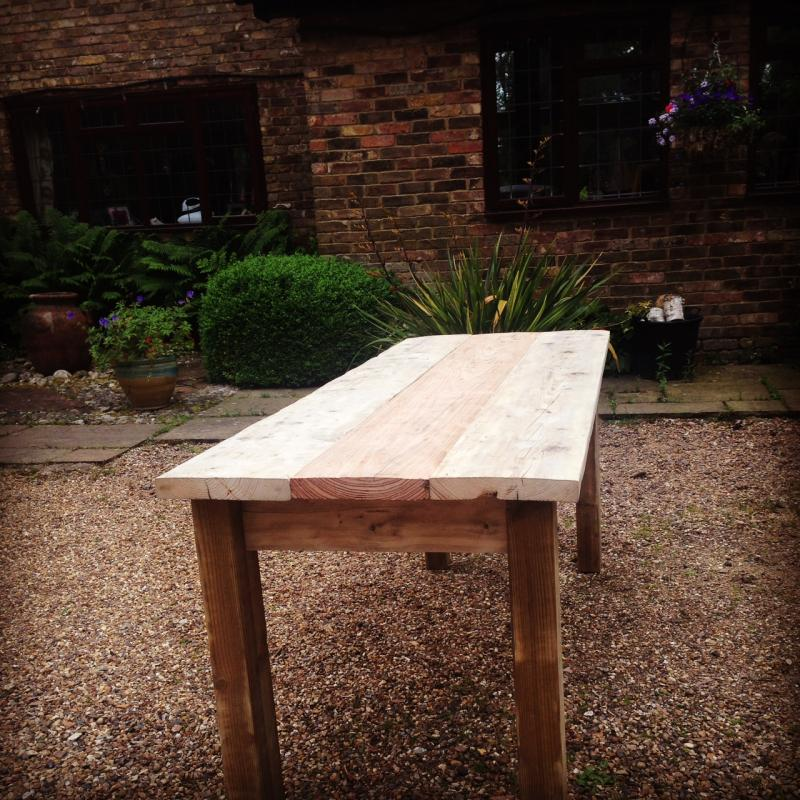 long kitchen table