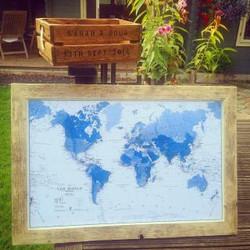 WORLD MAP SARAH