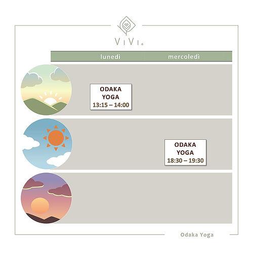 Calendario corso yoga ViVi SPA