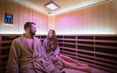 Sauna in cedro canadese