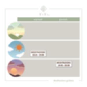 Calendario corsi Meditazione guidata Mil